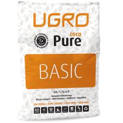 Кокосовый субстрат Ugro Pure Basic 50 л непрессованный