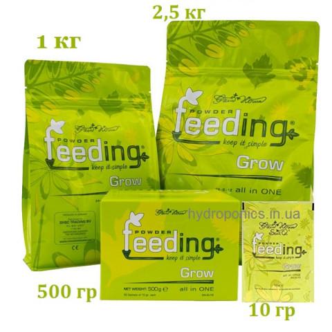 Удобрение Powder Feeding Grow для веги и материнских растений