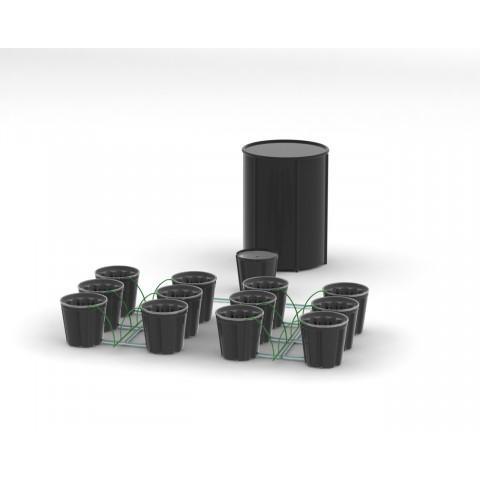 Система гидропоники Self-Watering на 12 посадочных мест
