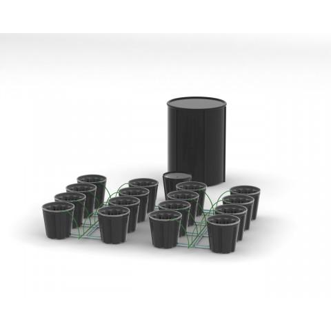Система гидропоники Self-Watering на 16 посадочных мест