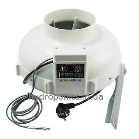 Вентиляторы канальные Prima Klima с температурным регулятором скорости