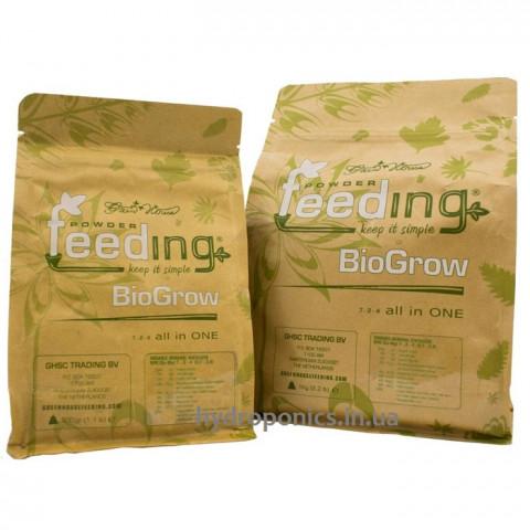 Bio Grow Органо-минеральное удобрение Powder Feeding