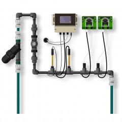 Растворный узел PH/EC/TDS Controller Inline