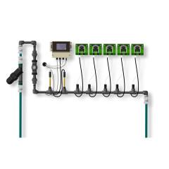 Растворный узел PH/EC/TDS Controller Inline 5 насосов
