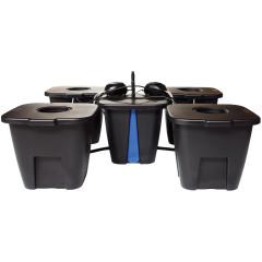 Система гидропоники DWC Aeros Master System 4 модуля с тихой помпой