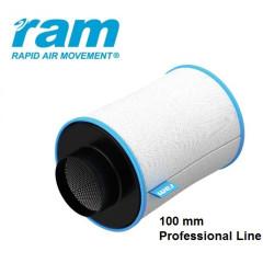 Угольный воздушный фильтр RAM PRO 100 мм (170м3)