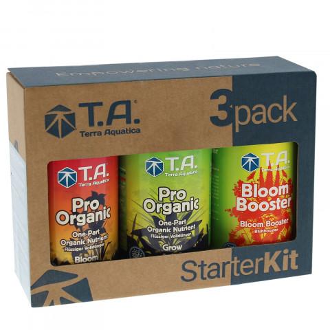 Pro Organic Starter Kit набор органических удобрений 3x500 мл
