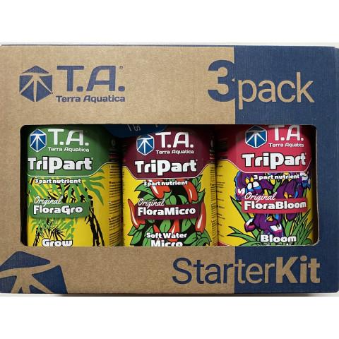 Комплект удобрений TA (GHE) StarterKit Tripart Soft Water для мягкой воды