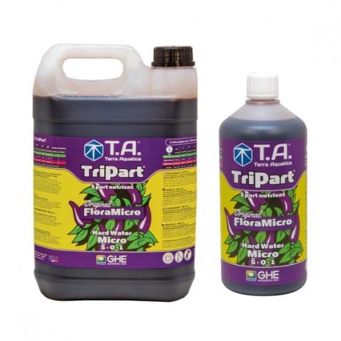 Удобрение Terra Aquatica Tripart Micro (Flora Micro) HW для жесткой воды