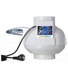 Prima Klima EC-TC 125 тихий вентилятор с регулировкой 680 м3