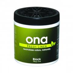 ONA Block Fresh Linen 170 гр нейтрализатор запаха