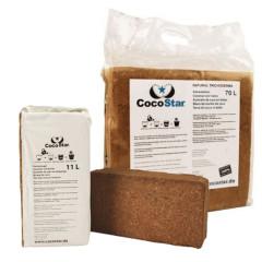 Кокосовый субстрат Cocostar в брикете 70 л