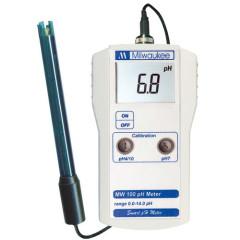 Профессиональный pH-метр Milwaukee MW 100 pH с монитором