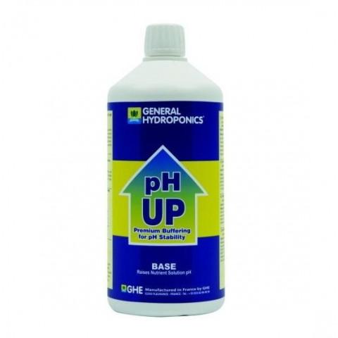 pH Up GHE жидкий повыситель pH со стабилизатором