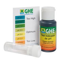 Жидкий индикатор pH test kit GHE