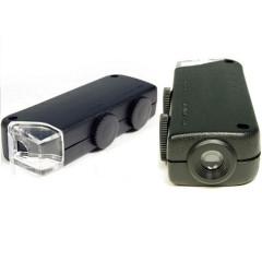 Микроскоп-фонарик карманный увеличение 60x-100x