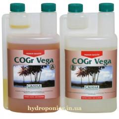 CANNA COGr (coco) Vega A & B 1л удобрение для кокосового субстрата