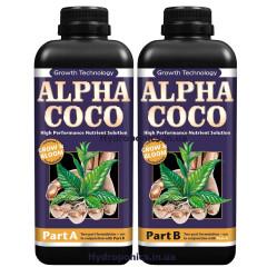 Удобрение Alpha Coco A & B для кокосового субстрата 2 по 1 л